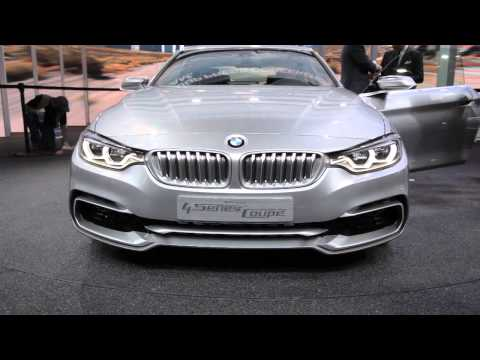 BMW 4 Series Coupe Concept - 2013 Detroit Auto Show