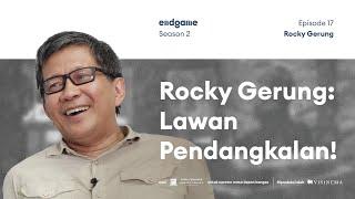 Rocky Gerung Bahas Jalan Berbatu Menuju Sehat Nalar di 2045 | Endgame S2E17