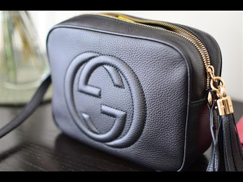 6fe2fdf2a7dfca Gucci Soho Black Disco Bag Review - YouTube