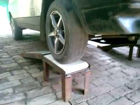 Мини эстокада для авто своими руками