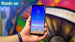 1250-EURO-SMARTPHONE -  Samsung Galaxy Note 9 im Hands-on / Erster Test