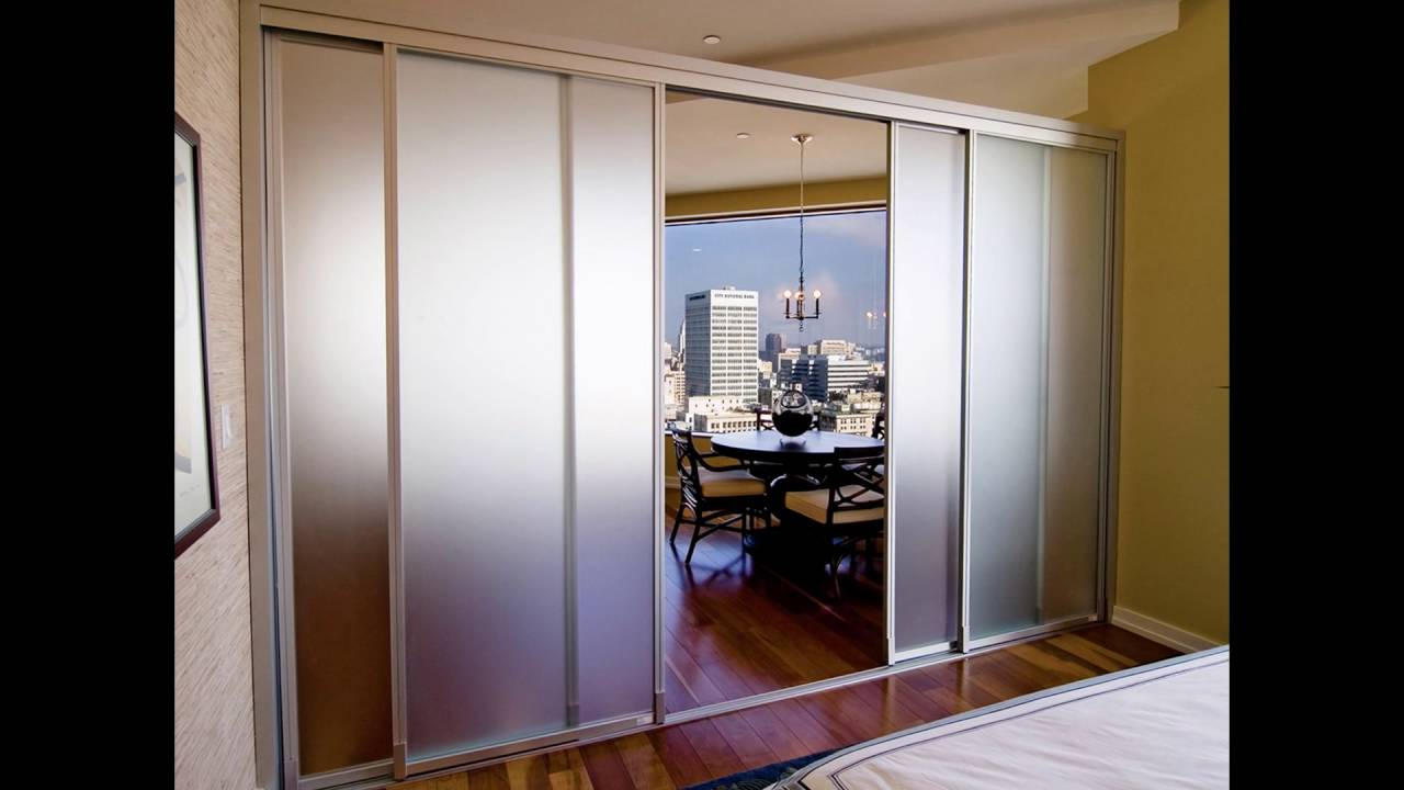 Room Partition With Door Best Glass Room Partitions  Youtube Decorating Inspiration
