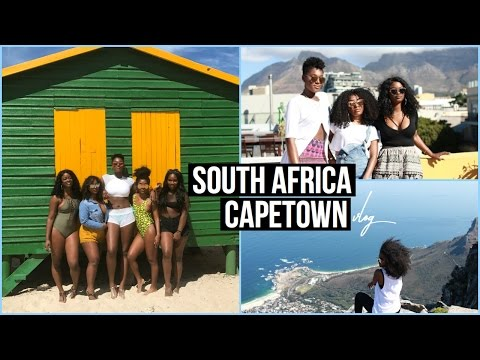 TRAVEL VLOG: SOUTH AFRICA, CAPETOWN!! Part 1
