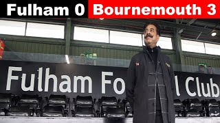 Fulham 0 Bournemouth 3 | Slav the manager who can put us right! | Fulham FC