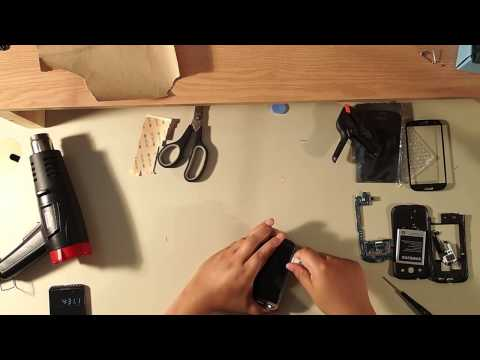 Samsung s3 screen replacement Tutorial. LCD and Digitizer