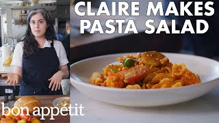 Claire Makes Pasta Salad with Romesco | From the Test Kitchen | Bon Appétit