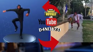 fortnite dances in real life #2