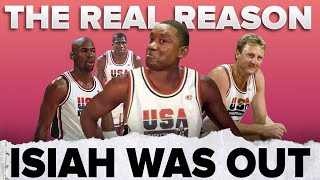 The Real Reason Isiah Thomas Was Left Off The Dream Team 🇺🇸 | #shorts