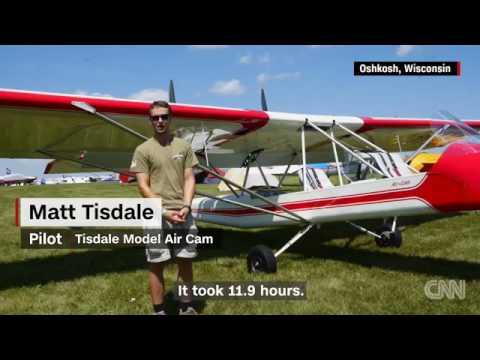 23996 gelände aus CNN Flying at 200 feet in an open air plane