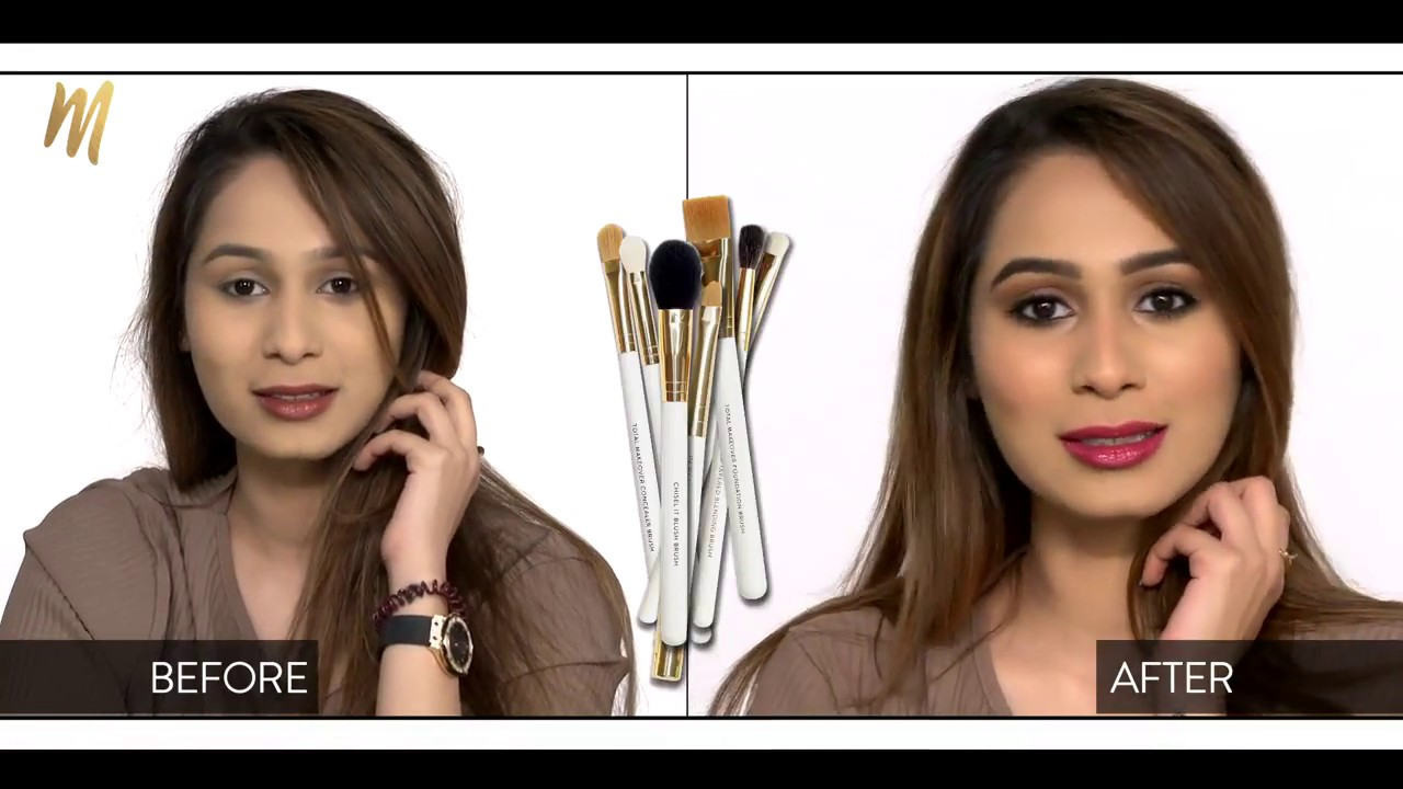 Makeup tutorial l makeup for a morning wedding function youtube makeup tutorial l makeup for a morning wedding function baditri Image collections