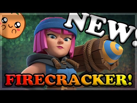 NEW Firecracker Card With Gameplay LEAKED By Supercell - TV Royale Review 🍊