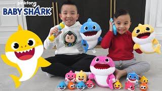 Baby Shark Hide and Seek Fun With Calvin & Kaison CKN