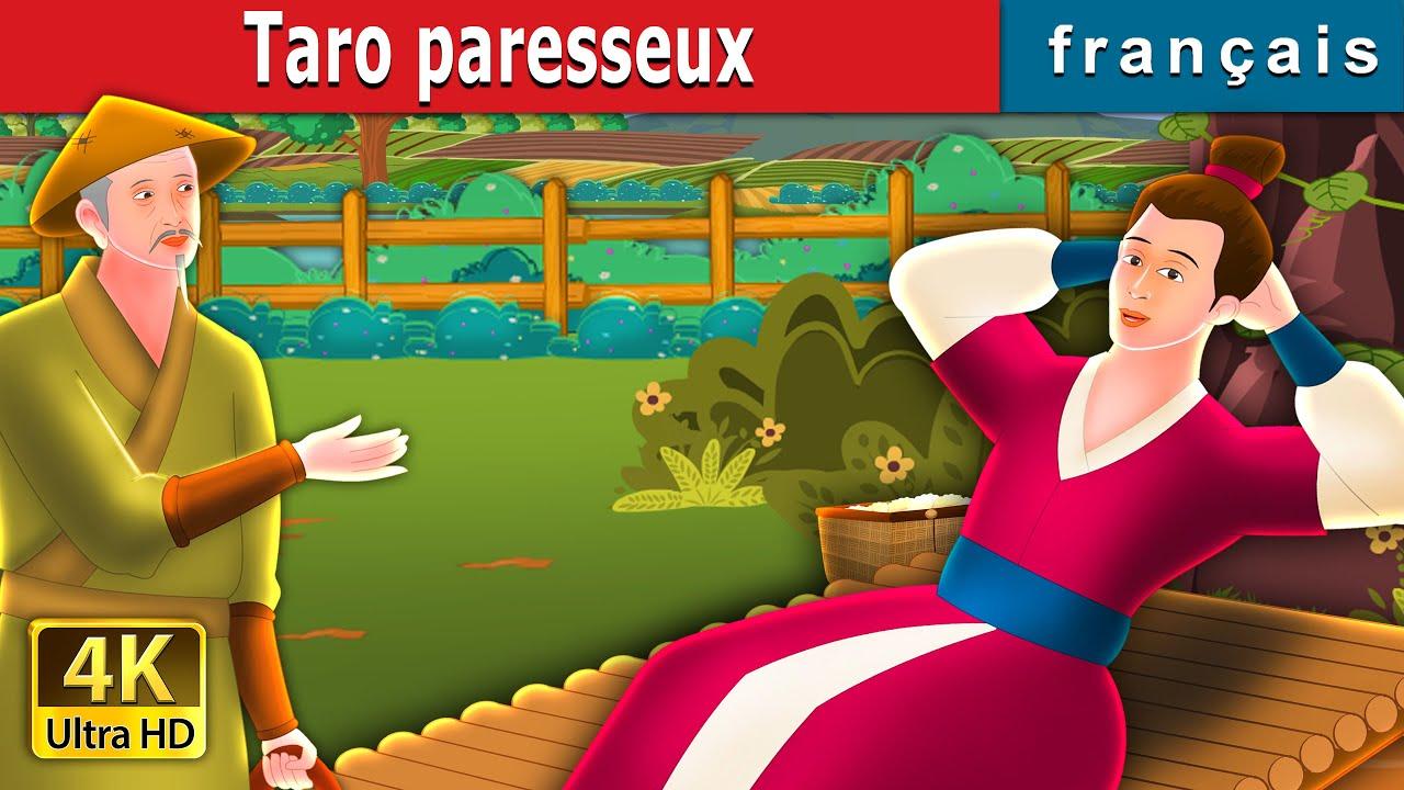 Taro paresseux | Lazy Taro Story  | Contes De Fées Français