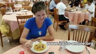 итальянский язык. обучение в Италии. курсы на море