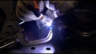 Tig Welding Stainless to Carbon to A572 with 309 Filler