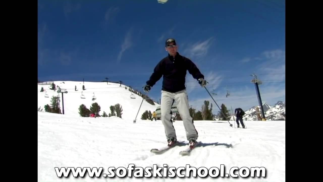 스키강좌 carving ski lesson youtube