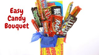 Easy Candy Bouquet Resimi