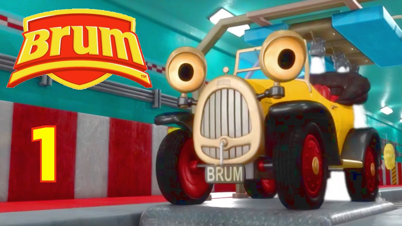 Brum Early Learning For Kids Brum S Car Wash Adventure
