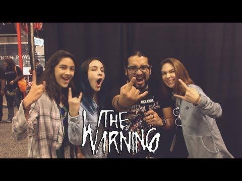 The Warning at NAMM 2018