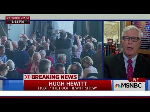 "Hugh Hewitt: ""President Trump"