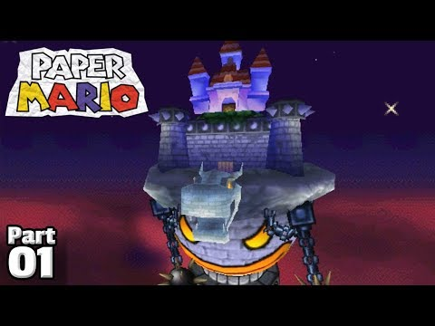 Paper Mario, Part 01: Castles In The Sky!