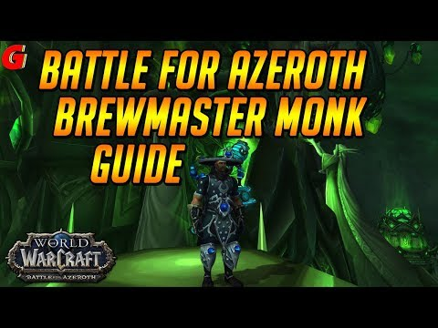 Brewmaster Monk Guide: Talents, Stagger, Rotation, Stat Priorities in BFA 8.1 and beyond