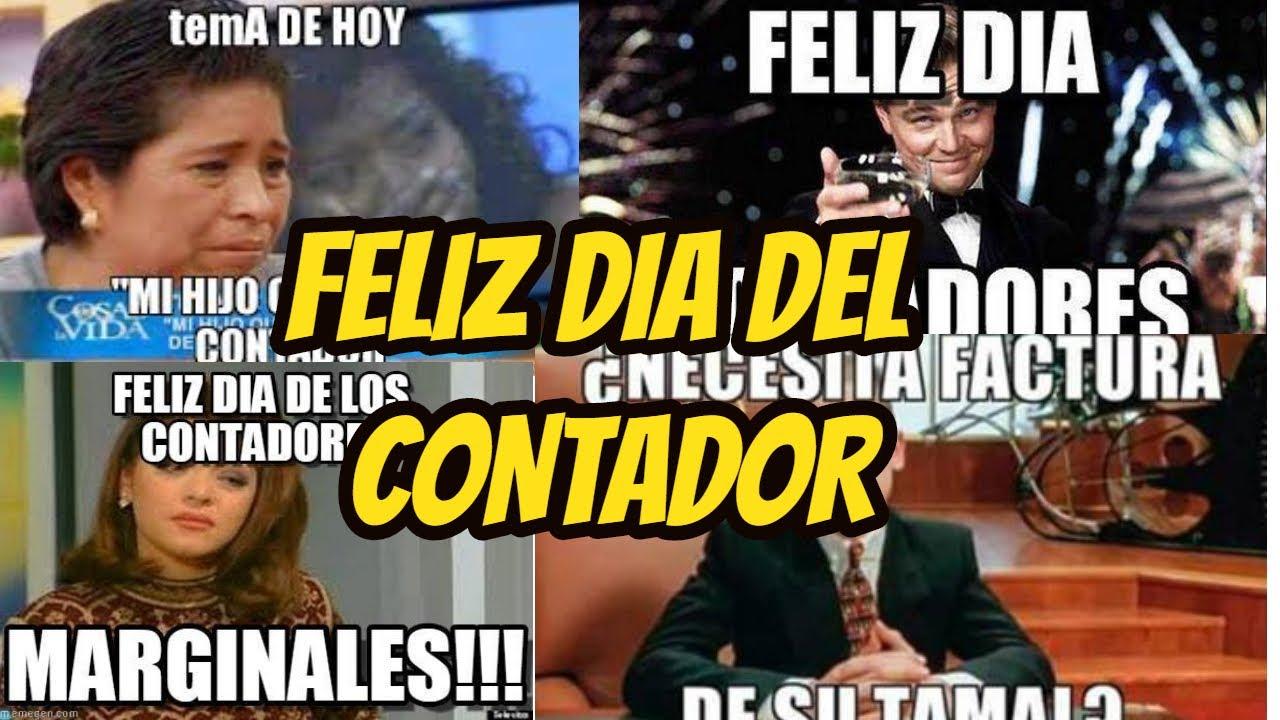 Ya están aquí los mejores memes del Día del Contador 2020 feliz dia del contador publico en mexico