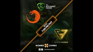TNC Pro Team vs Clutch Gamers Game 1 (BO3)   The Bucharest Major SEA Qualifiers