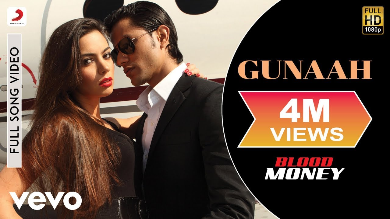 Gunaah Full Video - Blood Money|Kunal Khemu, Amrita Puri|Mustafa Zahid|Jeet Gannguli