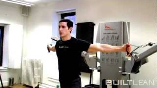 Cable Crossover Exercise: High to Low Variation