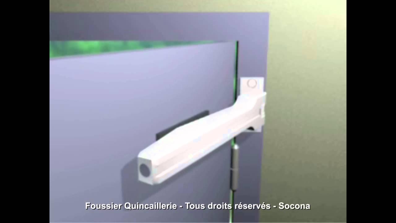 SOCONA SPIR Ferme porte Automatique à ressort BLANC Groom
