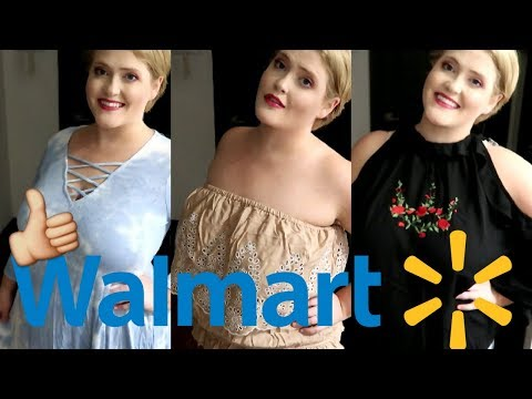 Plus Size Summer Try On Haul || What's New at Walmart!
