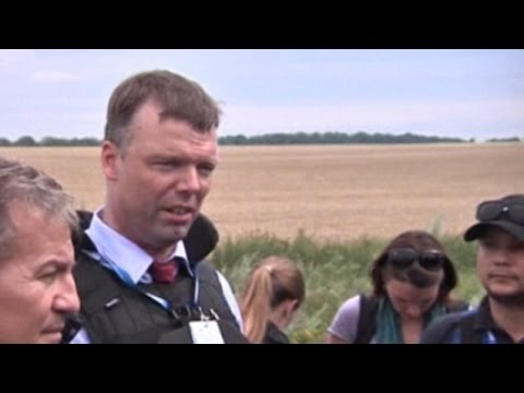 Chief Monitor of OSCE Discusses Access To The Crash Site of MH17