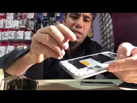 Samsung Galaxy J5 Duos - How to Insert SIM Card and micro SD Card