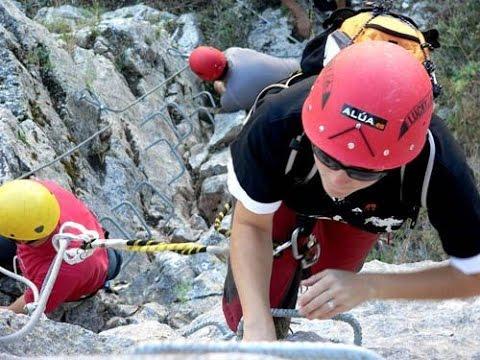 Klettersteig Pfalz : Klettersteig boppard in rheinland pfalz youtube