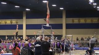2017 Brestyan's Las Vegas Invitational Gymnastics Meet   Level 9.4   Acroanna