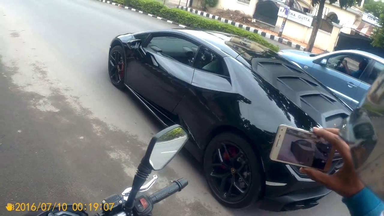 Lamborghini Huracan Reactions India Hyderabad Youtube