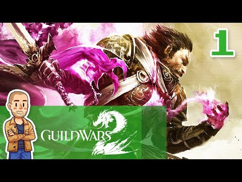 Guild Wars 2 Human Gameplay Part 1 - Mesmer - GW2 Let's Play Series