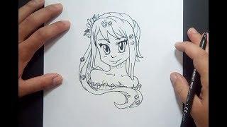Como dibujar una chica anime paso a paso 2 | How to draw an anime girl 2