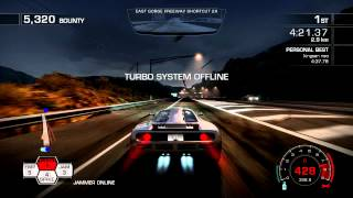 NFS-hot pursuit world top speed record 428kmh by kingson.