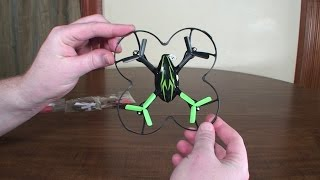 3-Blade Props for Hubsan X4 - Review and Flight Demo