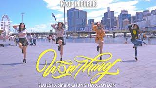 "[KPOP IN PUBLIC] SEULGI(슬기) X SinB(신비) X CHUNG HA(청하) X SOYEON(소연) - ""Wow Thing"" Dance by MONOCHROME"