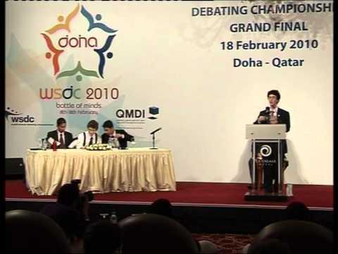 WSDC 2010 Grand Final in Doha
