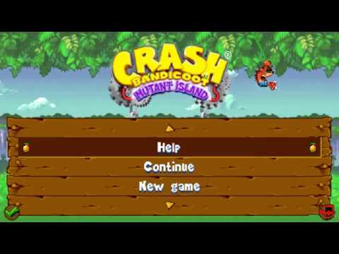 """Crash Bandicoot: Mutant Island"" JAVA GAME (Glu Mobile 2008 Year)"