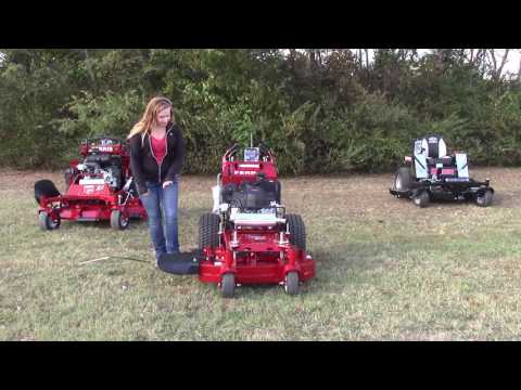 Ferris 36` walk behind lawn mower HC36KAV15E 15 HP Kawasaki FS541V