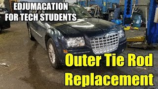 Outer Tie Rod Replacement 2005-2010 Chrysler 300