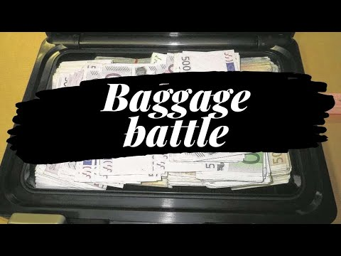 Baggage battle auction action! Kofferveiling in Nederland