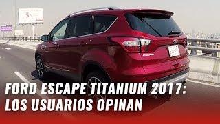 Ford Escape Titanium 2017 - La experiencia