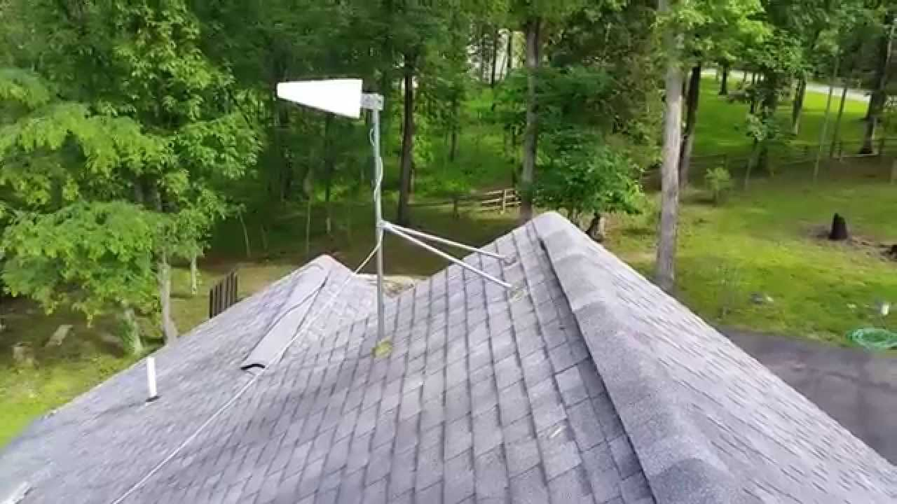 Homeownership 201 Tripod Antenna Mount Part 2 Youtube