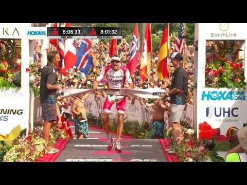 IRONMAN KONA 2016 Hawaii | Mister JAN FRODENO WORLD CHAMPION | Allon Sports